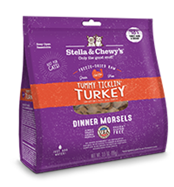Stella & Chewy's Cat Freeze-Dried Dinner Morsels Turkey