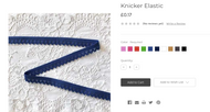 Coloured Knicker Elastics, to give your pants some zing!!