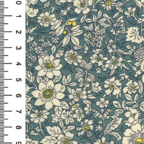 Dresden Small Floral Cotton Print Fabric
