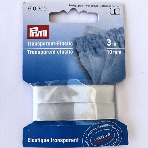 Prym Transparent Elastic 10mm 3m Pack