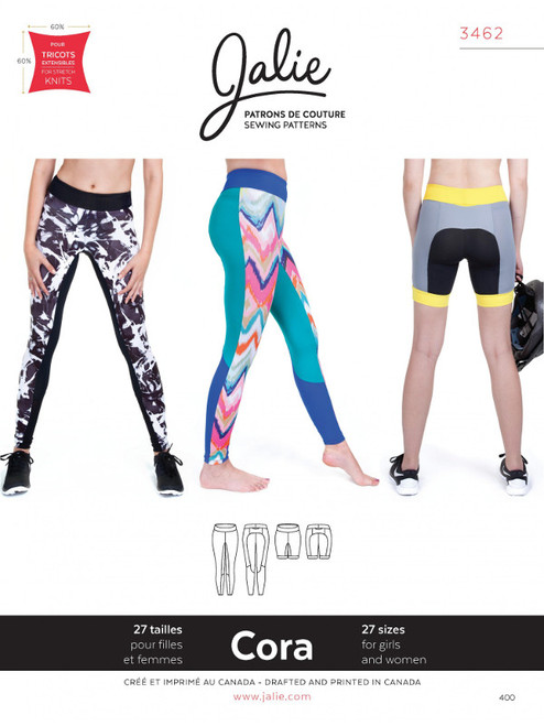 Jalie 3462 Cora Leggings Pattern