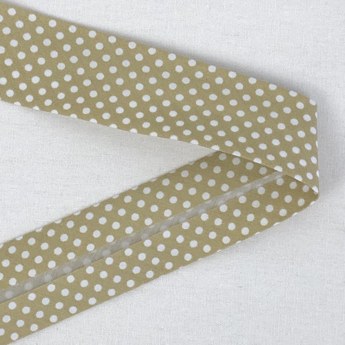 Stone Spot 30mm Bias Binding