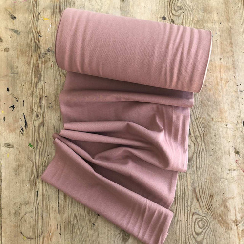 Vintage Pink Cuffing Tubular Fabric