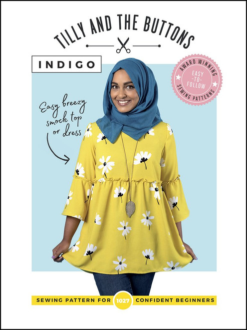 Tilly and the Buttons Indigo Top & Dress Pattern
