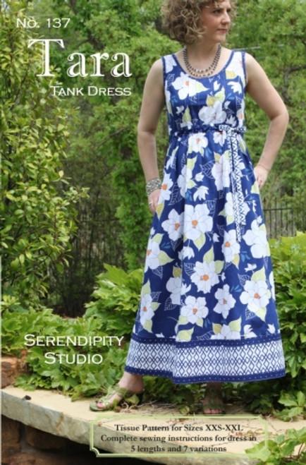 Serendipity Studio Tara Tank Dress Pattern