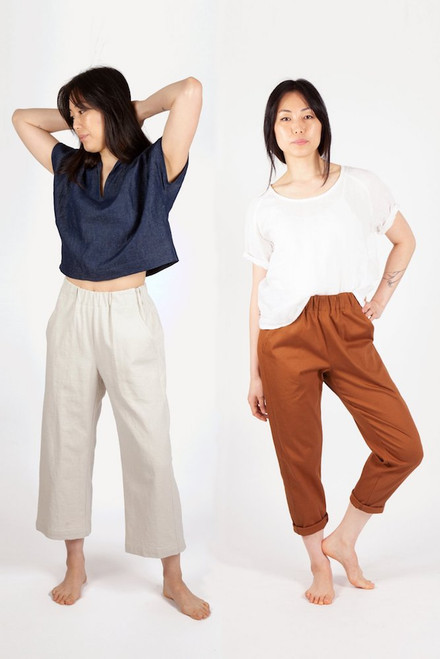 Sew House Seven Free Range Slacks Sewing Pattern