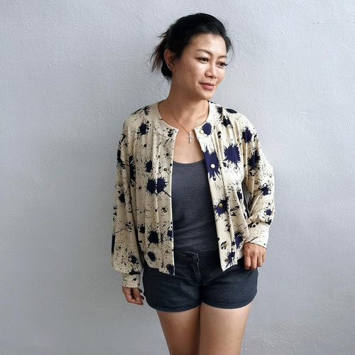 Balloon Cardigan Sewing Pattern
