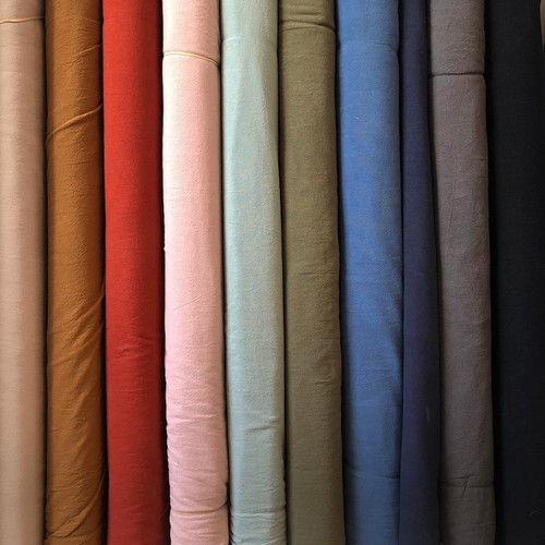 Washed Cotton Fabric