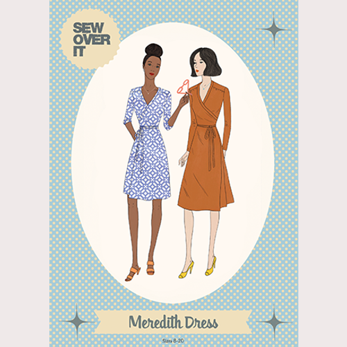 Sew Over It Meredith Wrap Dress Pattern