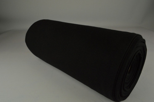 Black Cuffing Tubular Fabric