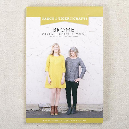 Brome Top & Dress Pattern