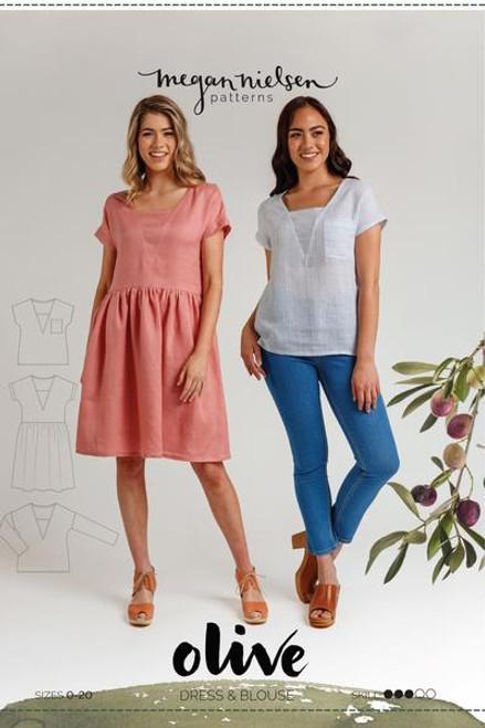 Olive Dress & Top Pattern