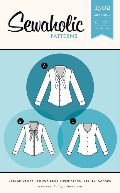 Oakridge Blouse Pattern