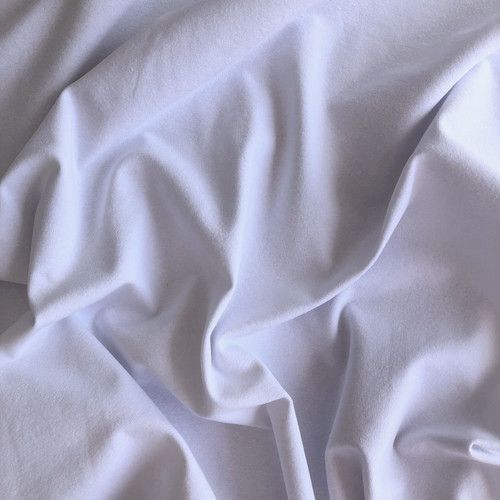 White T-shirt Cotton Jersey Fabric