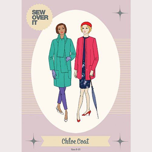 Sew Over It Chloe Coat Pattern