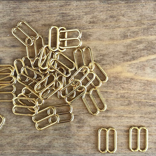 Gold/Rose Gold 13mm Bra Slide