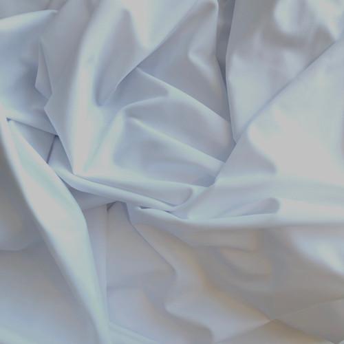 White Matt Swimwear & Activewear Fabric