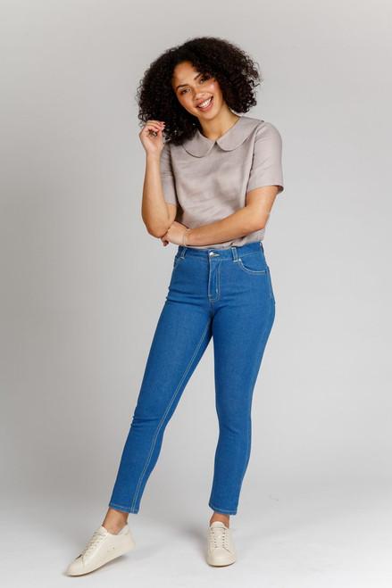 Ash Stretch Jeans Pattern