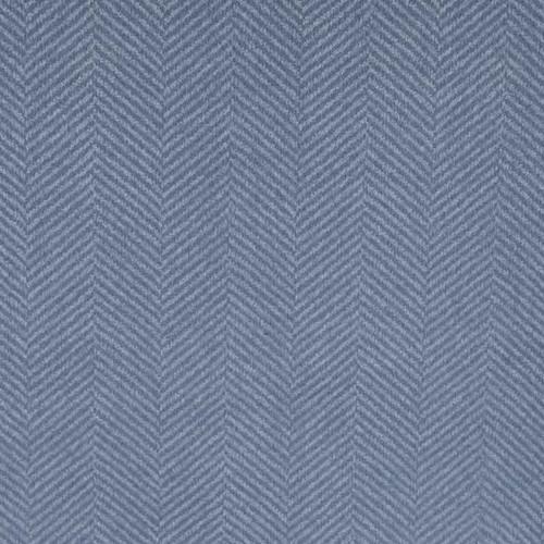 Blue Herringbone Knit Fabric