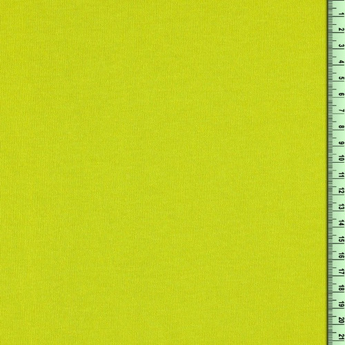 Lime Fine Knit Fabric