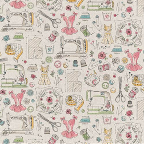 Passion For Sewing Cotton Print Fabric