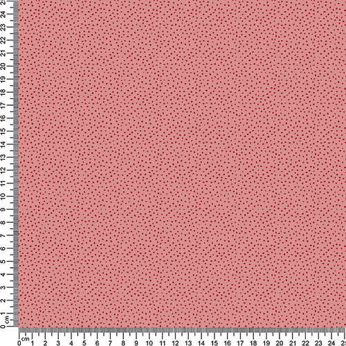 Pink/Red Speckle Cotton Print Fabric