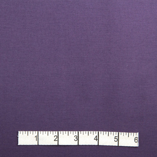 Plum Cotton Poplin Fabric