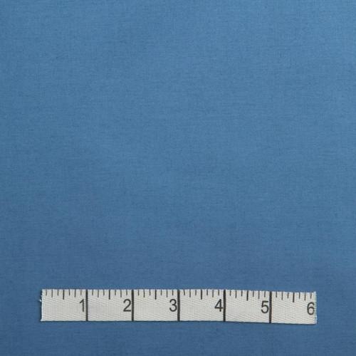 Wodge Blue Cotton Poplin Fabric