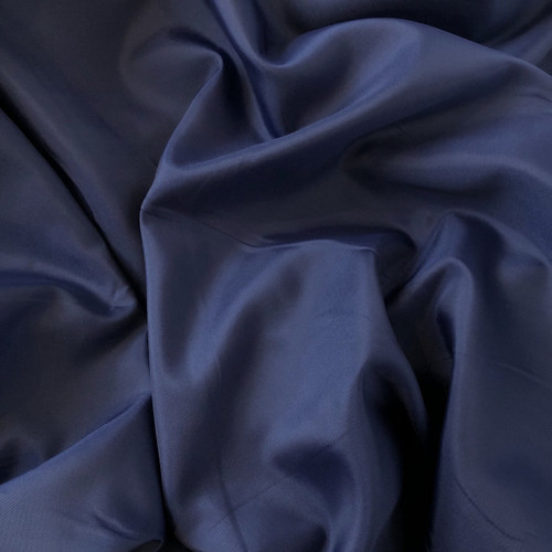 Navy Anti-Static Polyester Lining Fabric