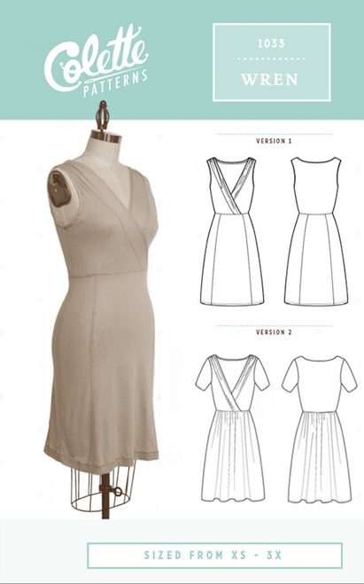 Colette Patterns Wren Dress Pattern