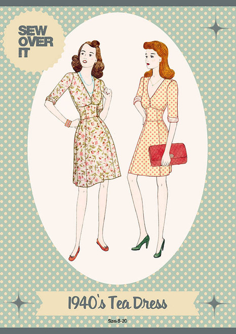 Sew Over It 1940's Tea Dress Pattern