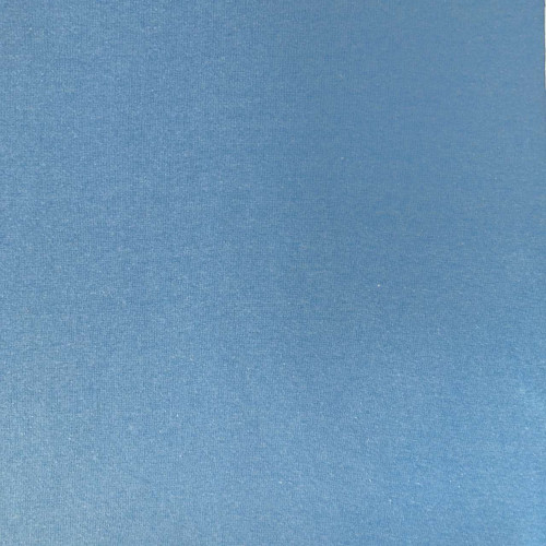Sky Blue Melange Tubular Ribbing Fabric
