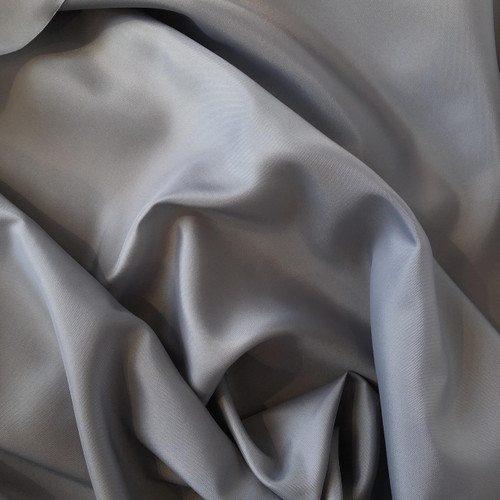 Silver Grey Anti-Static Polyester Lining Fabric