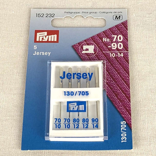 Prym Jersey Machine Needles Assorted Sizes