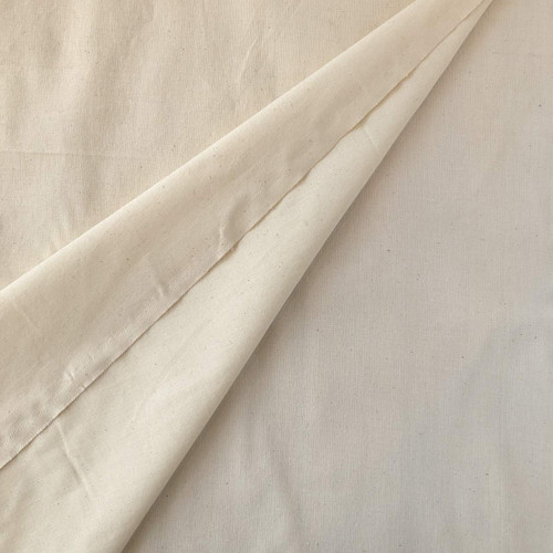 Natural Lightweight Calico Cotton Fabric