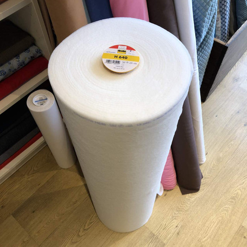 White Fusible Fleece Vilene H640
