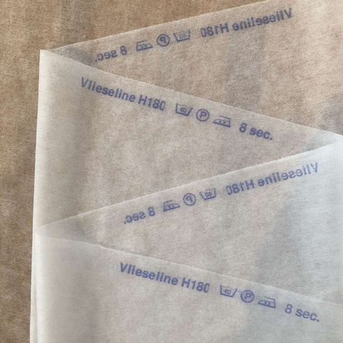 White Soft Vilene H180/308 Non-woven Iron on Interfacing