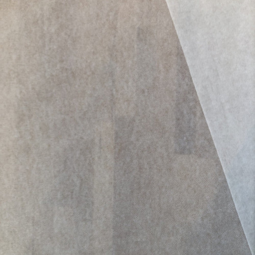 White Medium weight Non-woven Iron-on Interfacing