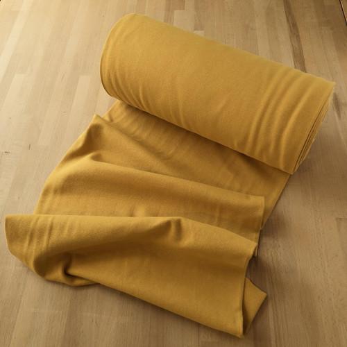 Mustard Cuffing Tubular Fabric