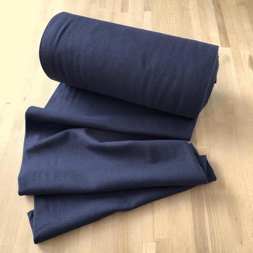 Navy Cuffing Tubular Fabric