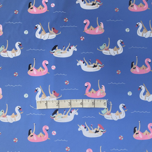 Blue Swan Inflatables Swimwear Fabric