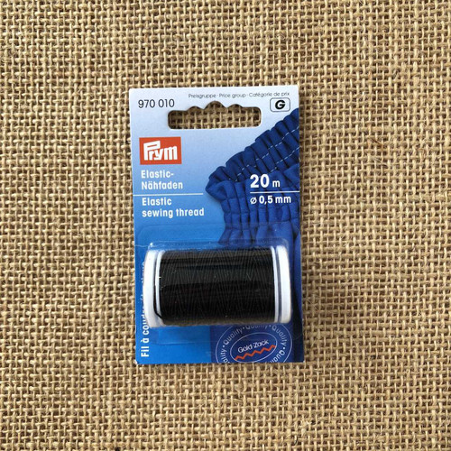 Prym Black Shirring Elastic