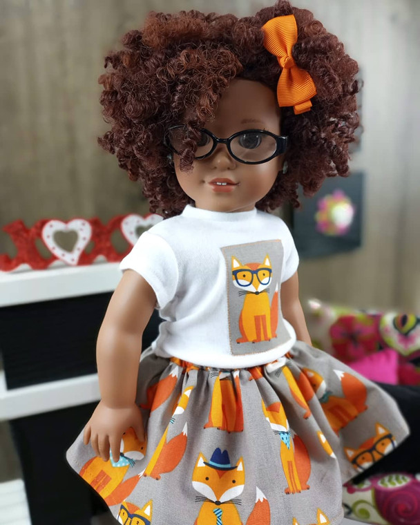 Mr. Fox 18 inch doll outfit