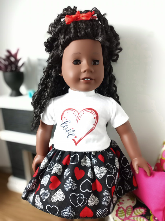 Love 18 inch doll outfit