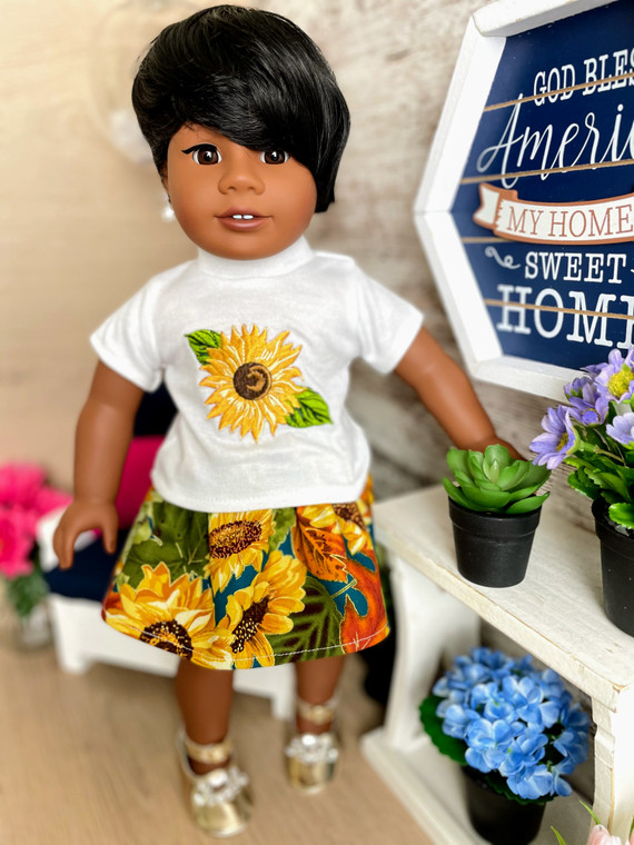 Sunflower v318 inch doll outfit