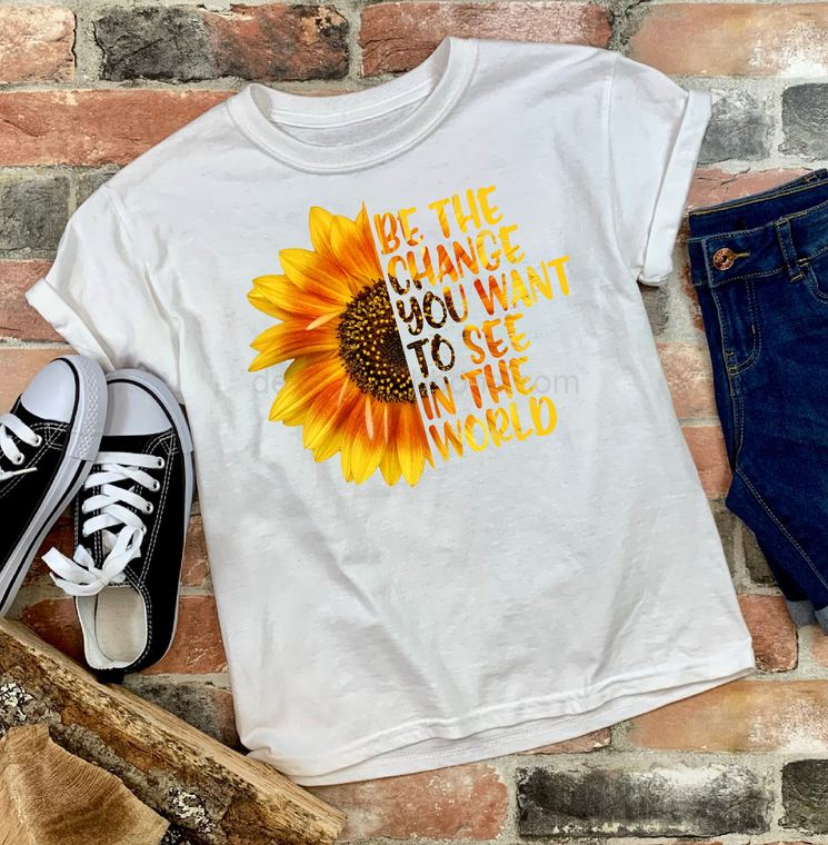 Be the Change Graphic Tee, Youth