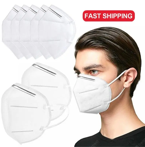 KN95 Standard Face Mask Respirator Protection -   5 count