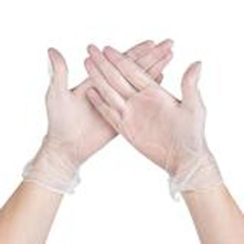 Vinyl Gloves, Large 100 count