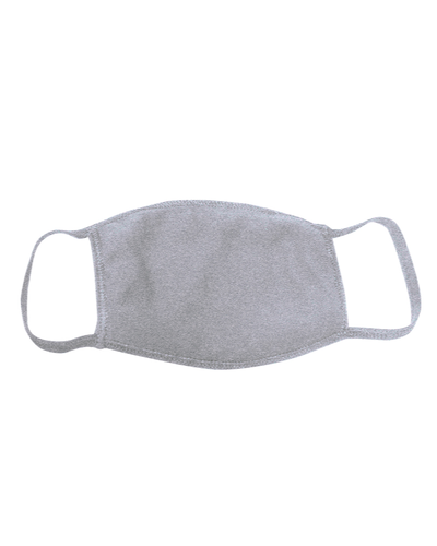 ********MADE IN THE U.S.A********* Reusable Cotton Poly Face Mask, Dark Ash 1 count