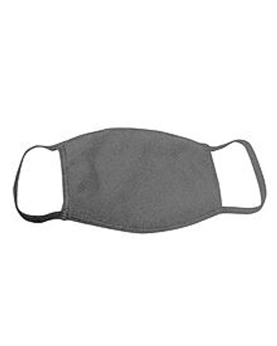 ********MADE IN THE U.S.A********* Reusable Cotton Face Mask, Heather Charcoal 1 count